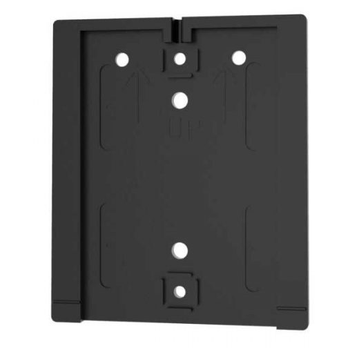 Value Wall Mounting Plate Black
