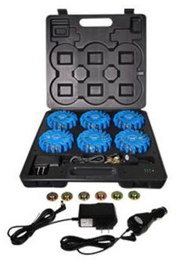 RETRACTA-CADE Barrier Blue LED Kit